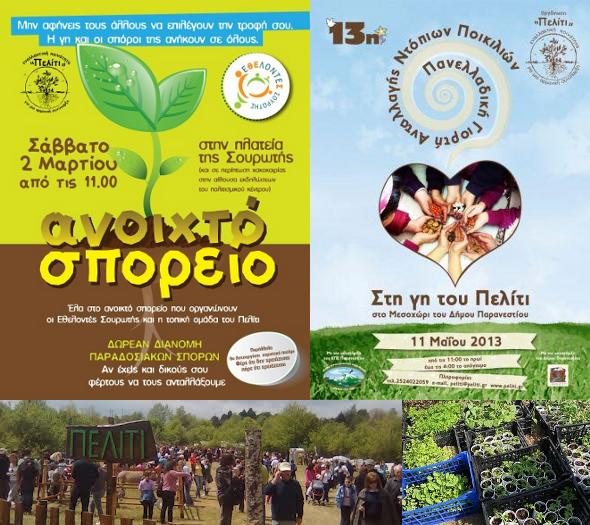 Peliti: maison des semences et fête d'échanges de semences