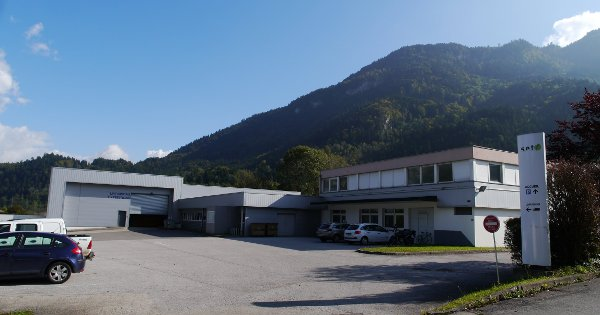 L'usine de Saint-Jeoire (74)
