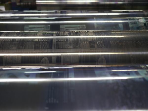 Rouleaux de cuivre pour héliogravure