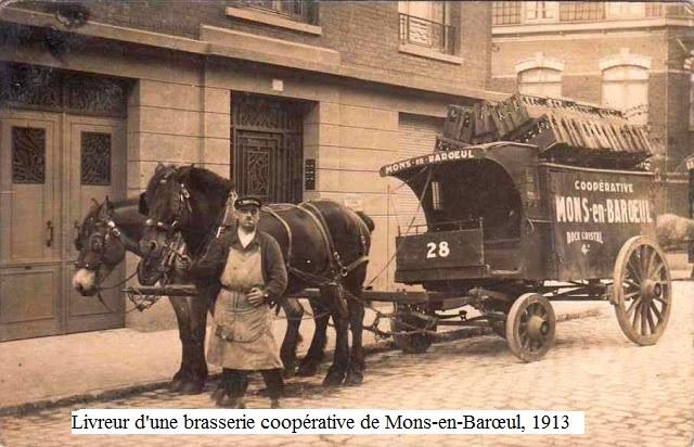 Livreur Brasserie Coopérative Mons en Barœul
