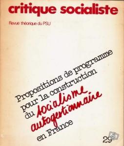 critique socialiste